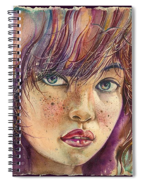 In The Bird Paradise Spiral Notebook