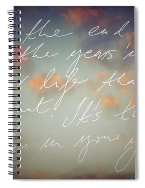 In The End... Spiral Notebook