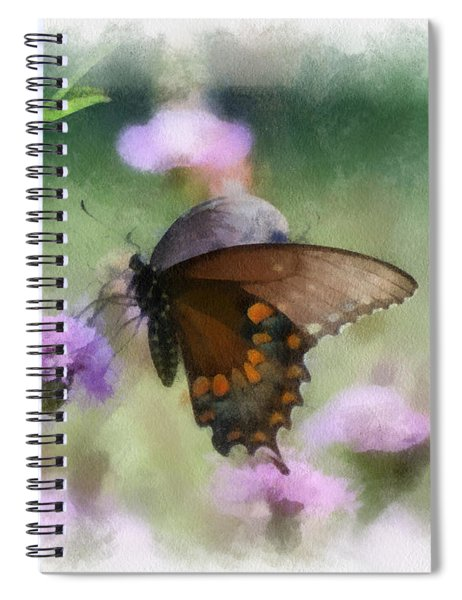 In The Flowers Spiral Notebook