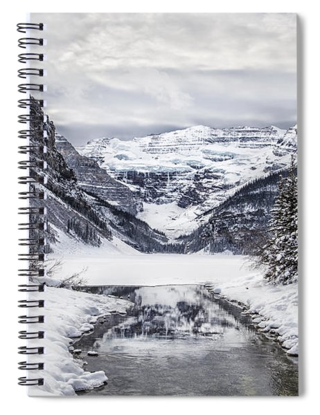 In The Heart Of The Winter Spiral Notebook