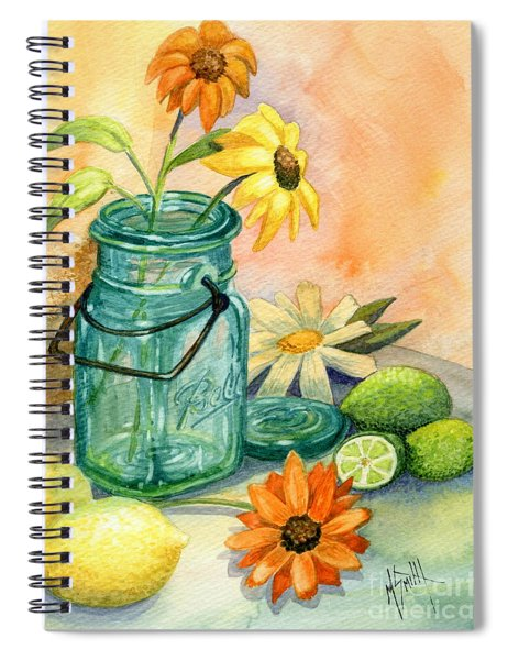 In The Lime Light Spiral Notebook