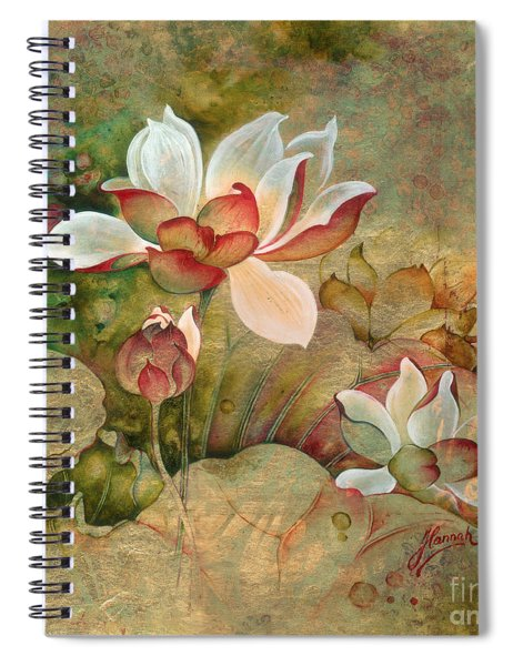 In The Lotus Land Spiral Notebook