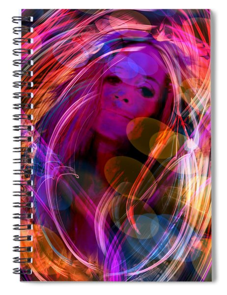 In The Mood Spiral Notebook