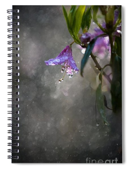 In The Morning Rain Spiral Notebook