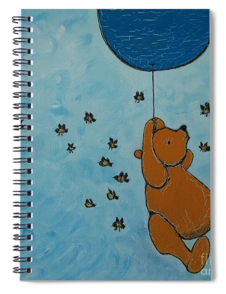 In The Pursuit Of Honey Spiral Notebook