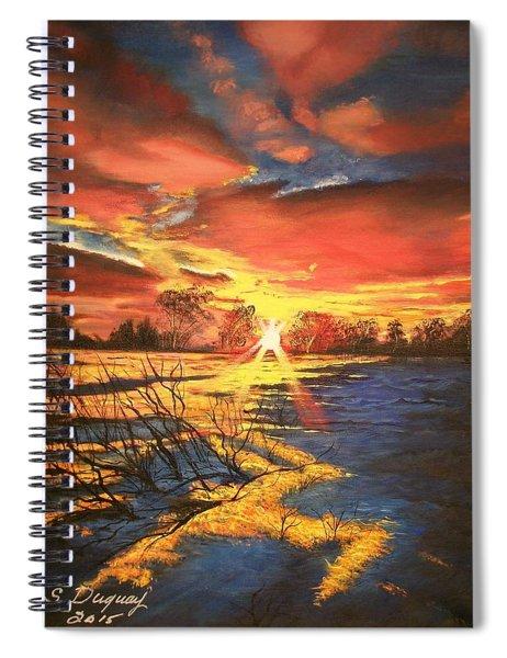 In The Still Of Dawn-2 Spiral Notebook