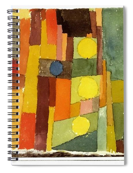 In The Style Of Kairouan Spiral Notebook