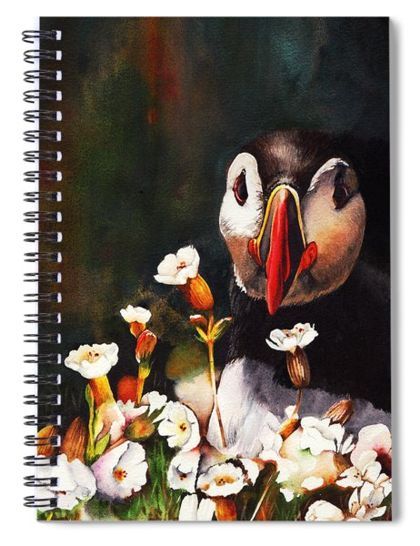In Your Face Spiral Notebook