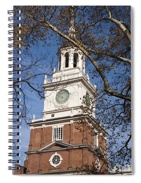 Independence Hall Spiral Notebook