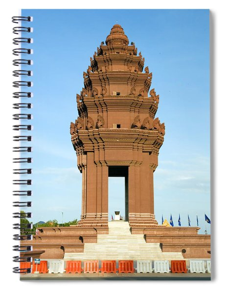 Independence Monument Spiral Notebook