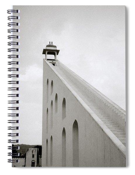 Simple Geometry Spiral Notebook