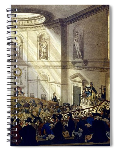 India House, The Sale Room Spiral Notebook
