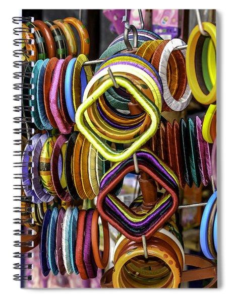 Indian Bangles Spiral Notebook