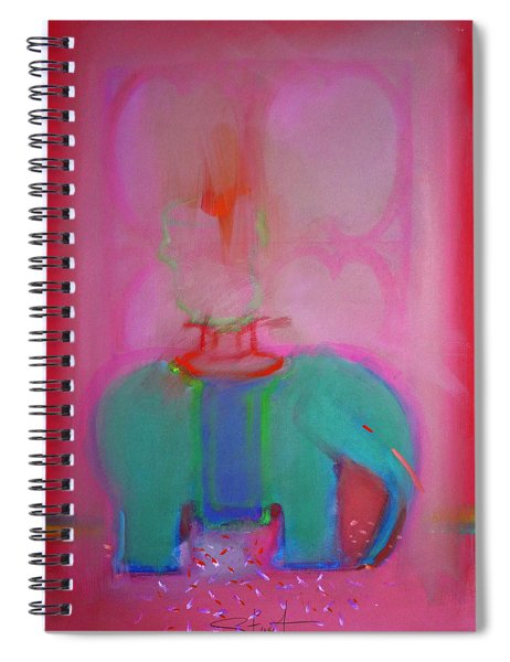 Indian Elephant Spiral Notebook