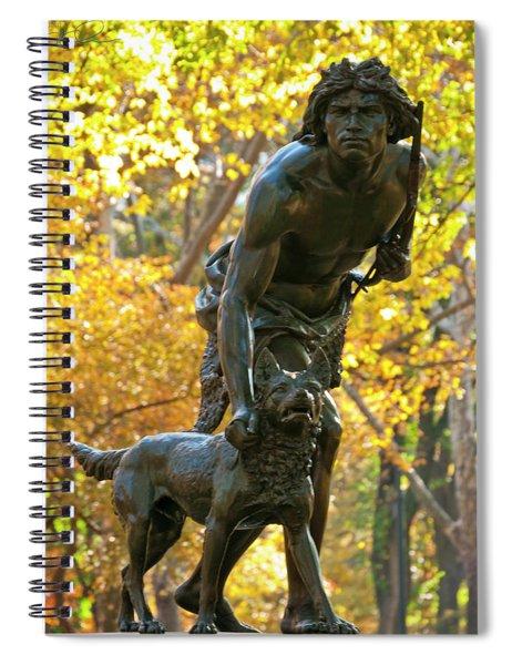 Indian Hunter Spiral Notebook