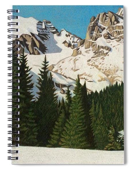 Indian Peaks Winter Spiral Notebook