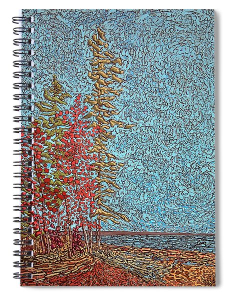 Indian Point - May 2014 Spiral Notebook