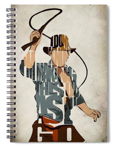 Indiana Jones - Harrison Ford Spiral Notebook