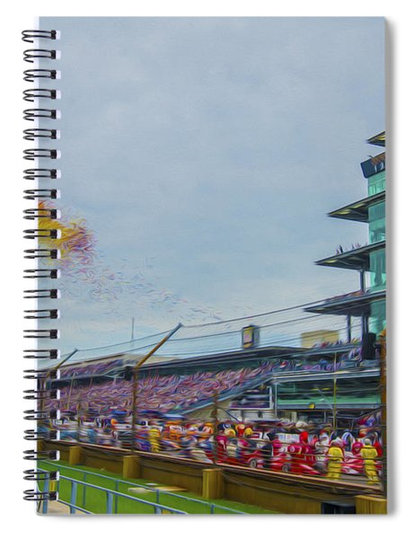Indianapolis 500 May 2013 Balloons Race Start Spiral Notebook