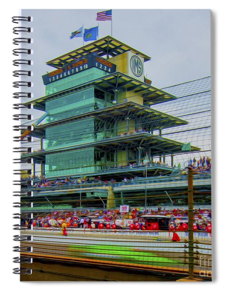 Indianapolis 500 May 2013 Square Spiral Notebook