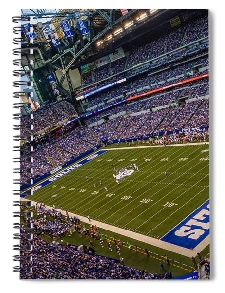 Indianapolis And The Colts Spiral Notebook