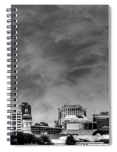 Indianapolis Indiana Skyline 0762 Spiral Notebook