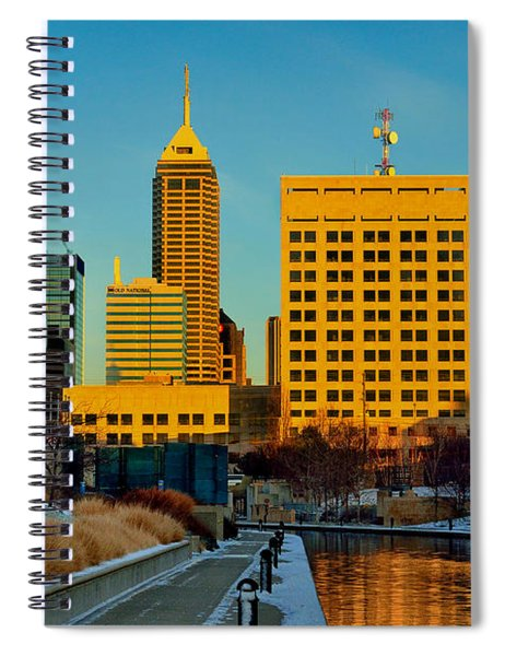 Indianapolis Skyline Dynamic Spiral Notebook