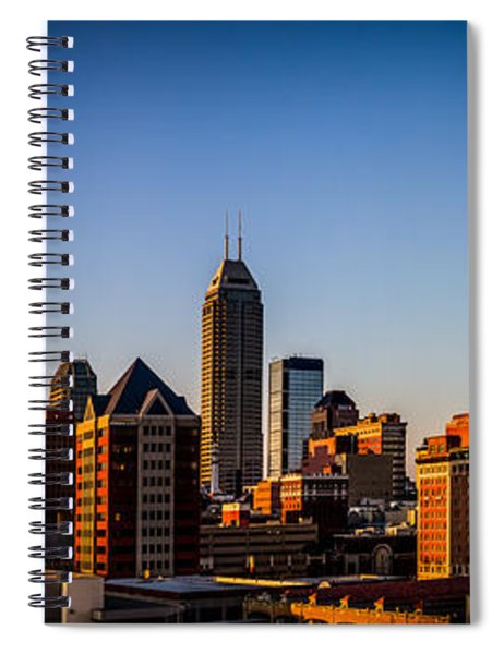 Indianapolis Skyline - South Spiral Notebook
