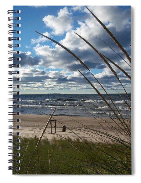 Indiana Dunes' Lake Michigan Spiral Notebook