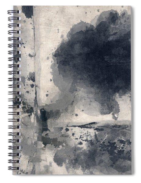 Indigo Clouds 1 Spiral Notebook