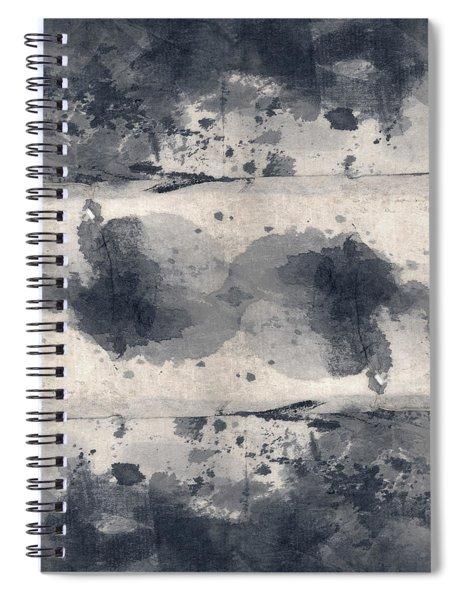 Indigo Clouds 2 Spiral Notebook