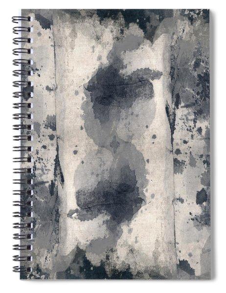 Indigo Clouds 3 Spiral Notebook