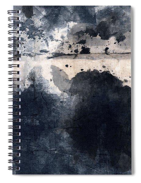 Indigo Clouds 4 Spiral Notebook