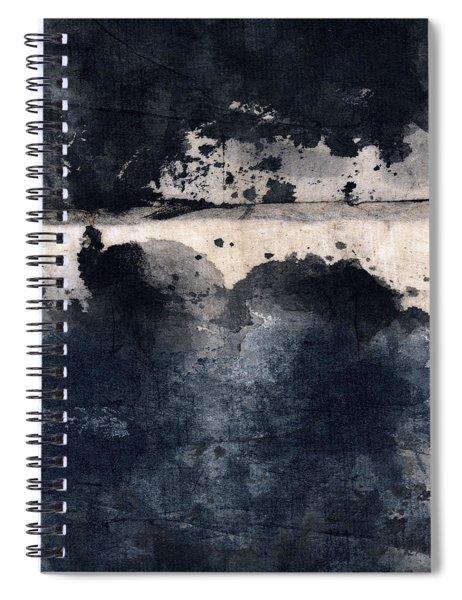 Indigo Clouds 5 Spiral Notebook