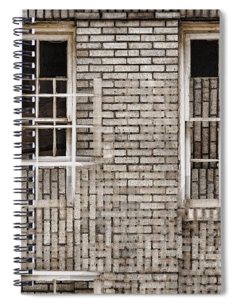 Industrial District Abstract Number 2 Spiral Notebook