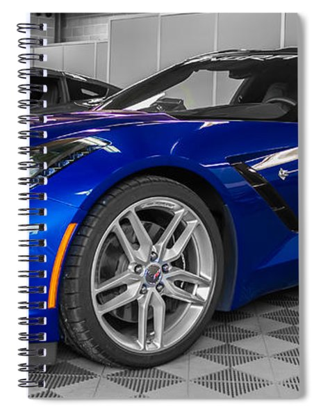 Indy 500 Corvette Pace Car Spiral Notebook