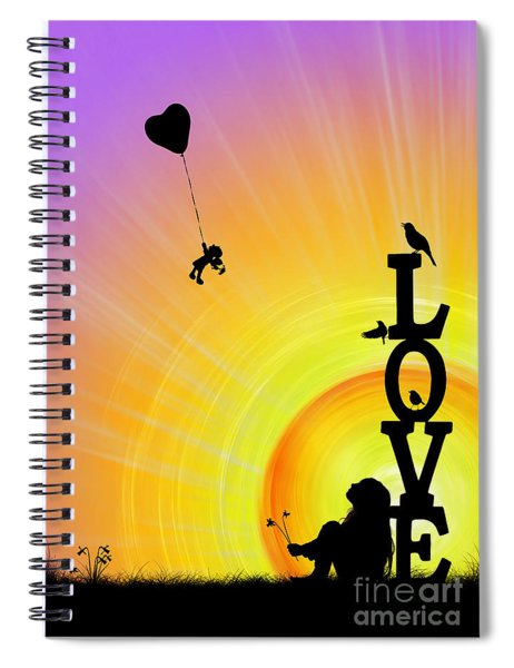 Inner Child Spiral Notebook