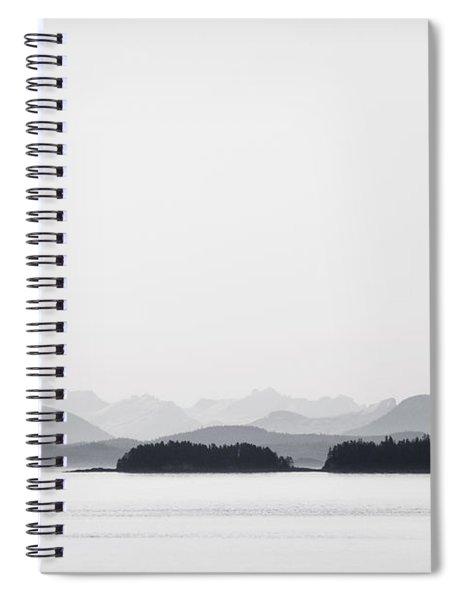 Inside Passage Alaska Spiral Notebook