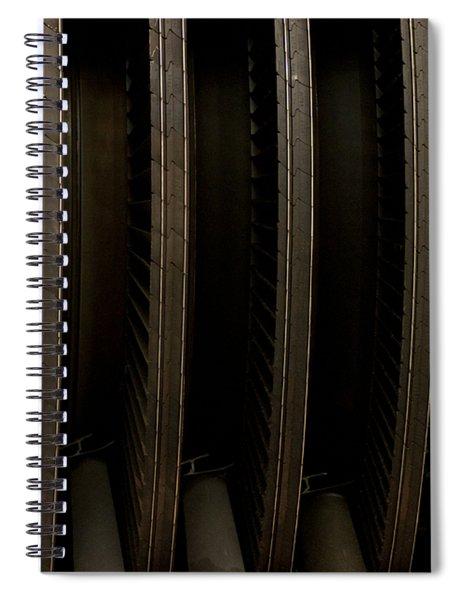 Inside The Engine Spiral Notebook