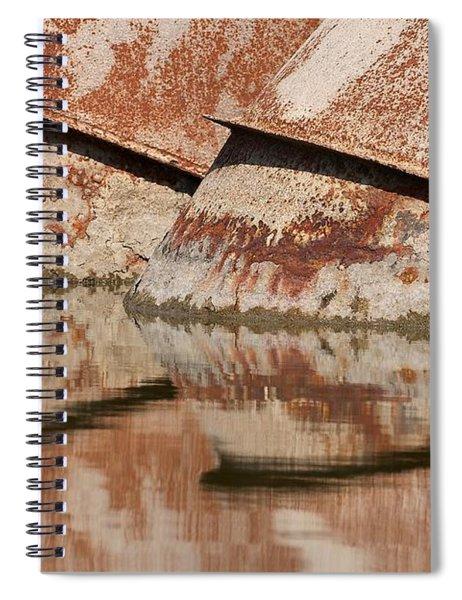 Intake Pipes Spiral Notebook