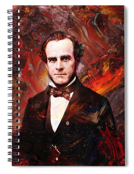 Intense Fellow 2 Spiral Notebook