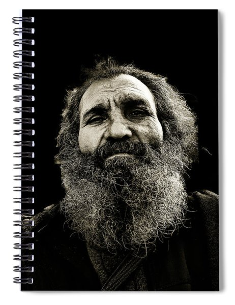 Intense Portrait Spiral Notebook
