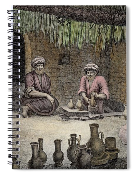 Interior Of A Potters Workshop Spiral Notebook