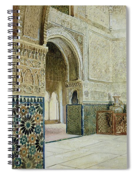 Interior Of The Alhambra  Spiral Notebook
