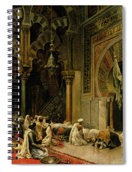 Interior Of The Mosque At Cordoba Spiral Notebook