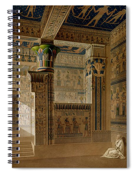 Interior View Of The West Temple Spiral Notebook