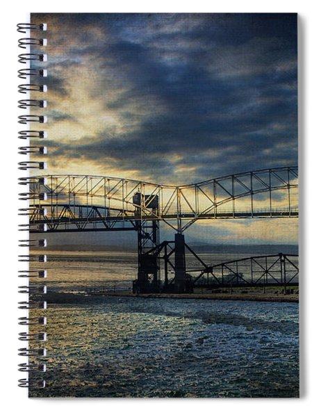 International Blues Spiral Notebook