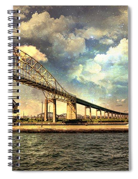 International Bridge Sault Ste Marie Spiral Notebook