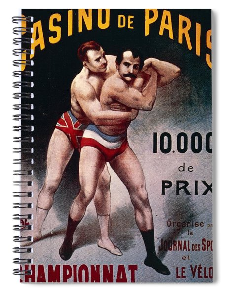 International Wrestling Championship Spiral Notebook
