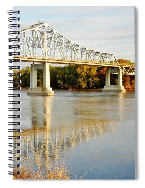 Interstate Bridge In Winona Spiral Notebook